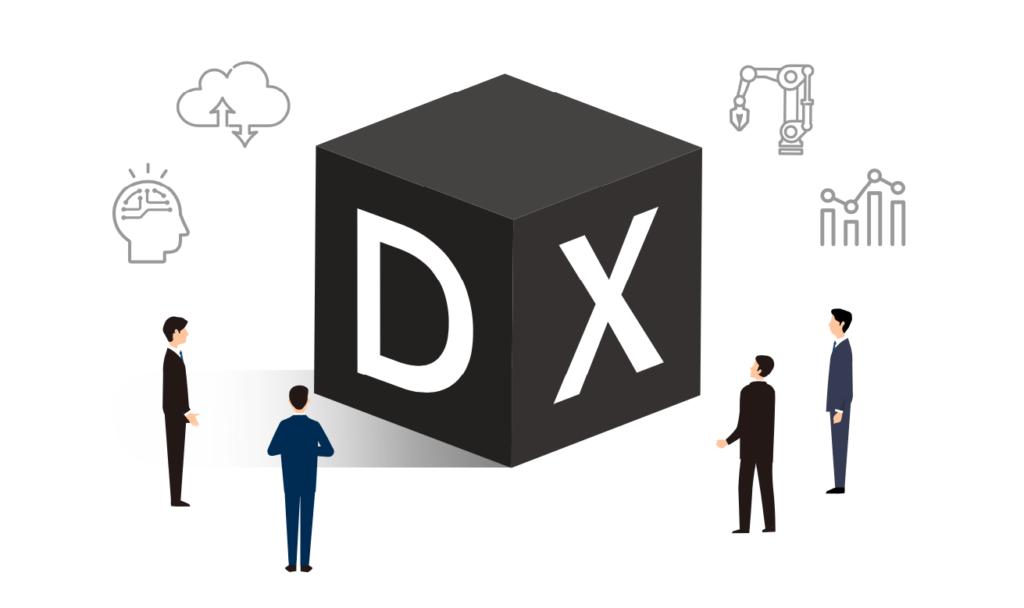 情報システム部門がどこまで会社の DX に参加すべきか_イメージ