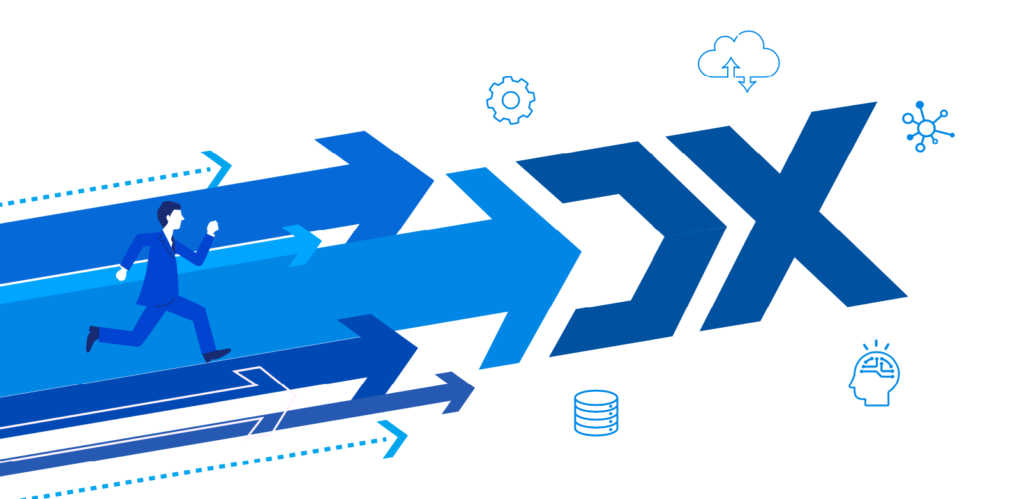 ユーザー企業の7割がDXに対して積極的_イメージ