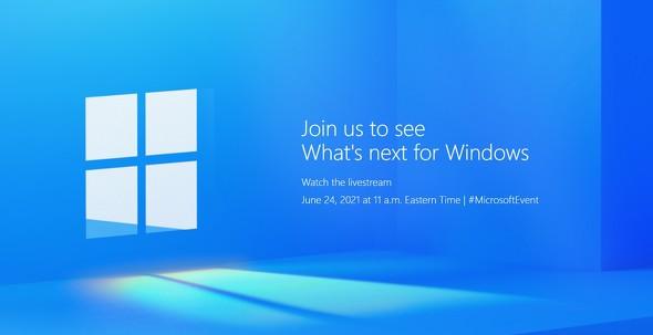 【ついに登場か?】Windows 11《発表会は6月25日0時から生放送》_サムネイル